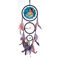 20 Long Indian Maiden Owl Dream Catcher Wall Hang Decor Feathers Beads Gift