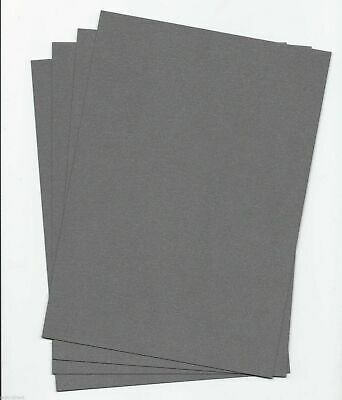 25 x A5 Sheets of DARK SILVER 240gsm  Pearlised //Shimmer CARD Stock Free p//p