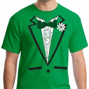 fa059f20e Green Tuxedo Irish St Patricks Day Tux Paddys costume flag Ireland ...