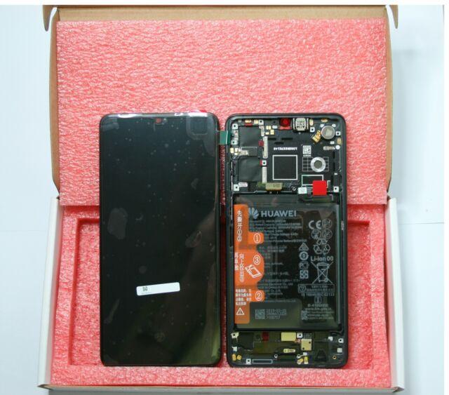 GENUINE HUAWEI P30 BLACK LCD SCREEN SERVICE PACK NEW 02352NLL