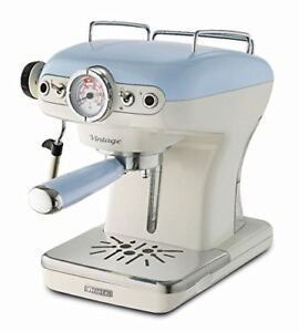 Ariete-1389-14-Vintage-Espresso-Coffee-Machine-0-9-Liter-Water-Tank-15-bar-Blue