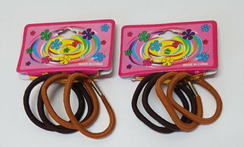 Thin Elastics Snag Free Hair Bands Ponytail Bobbles Ponios
