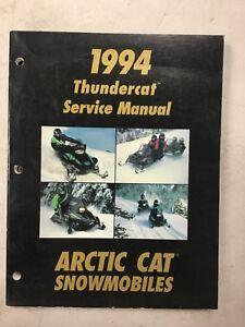1994 Arctic Cat Snowmobile Service Manual Thundercat