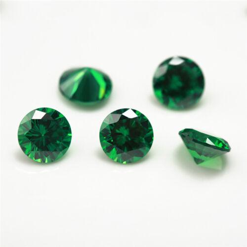 Round 1-4mm Birthday Stone 50pcs Per Colors Total 600pcs Loose CZ Zirconia