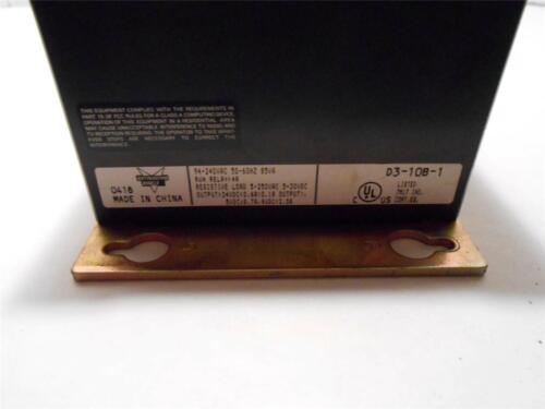 AUTOMATION DIRECT SLOT RACK D3-10B-1   DIRECT LOGIC 305 SERIES