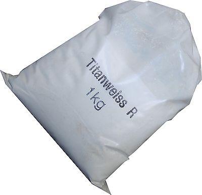 Trockenfarbe Farbpigment Pulverfarbe Pigment Titanweiß Titanweiss 1kg
