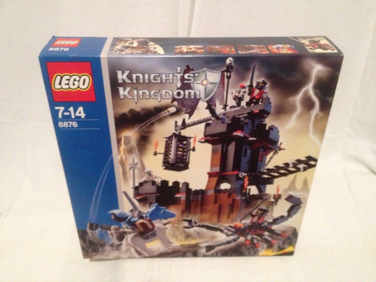 Lego Knights Kingdom 8876 Scorpion Prison Cave  NEUF 1 édition