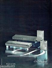 PUBLICITE ADVERTISING 016  1971  DUPONT  briquet de table