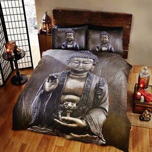Buddha-Oriental-Duvet-Quilt-Cover-Retro-3D-Bedding-Set-Single-Double-King