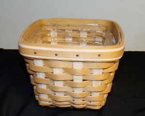 Longaberger-2004-At-Home-Garden-Seedling-Basket-6-034-x-6-034-x-4-1-2-034-height