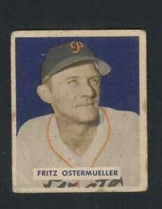 1949-Bowman-227-Fritz-Ostermueller-VG-VGEX-Pirates-104324