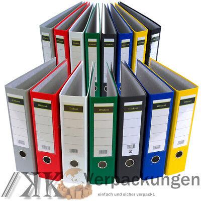 50 x Ordner A4 5 cm PP Papier Blau Aktenordner Briefordner Schmal