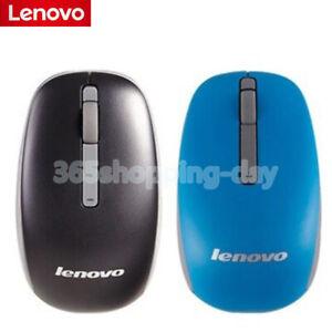 Black Lenovo N100 Wireless Mouse