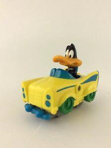 Looney-Tunes-Daffy-Duck-Splitting-Sportster-Car-Vintage-1992-McDonald-039-s-Toy