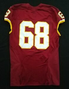 Details about  68 of Washington Redskins Nike Game Issued Player Worn  Without Nameplate Jersey 75ea3d0c9