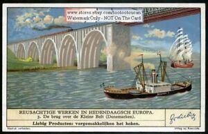 Small-Belt-Bridge-Denmark-70-Year-Old-Trade-Ad-Card