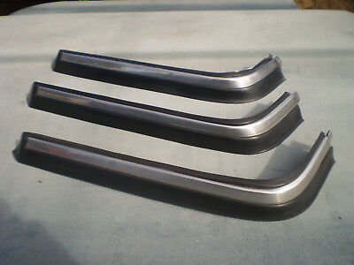 1986-1993 VOLVO 240 244 245 Passenger Side Right Front Bumper Trim Moulding