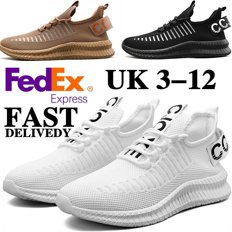 Men's Women's Sport Shoes Athletic Trainers Fashion Sneakers Outdoor Jogging UK