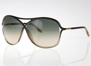 8b610757e5705 Image is loading Tom-Ford-TABITHA-Sunglasses-Black-Transparent-Honey-Frame-