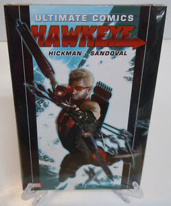 Ultimate-Comics-Hawkeye-by-Hickman-1-2-3-Marvel-Comics-HC-Hard-Cover-New-Sealed