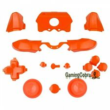 Full Set Orange Buttons Kits for Microsoft Xbox One Controller 3.5 mm Jack Elite