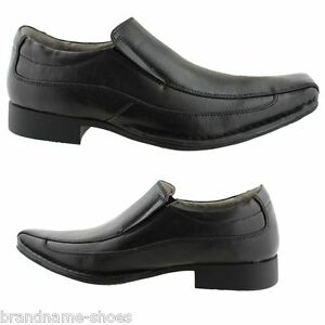 MENS-JULIUS-MARLOW-JM33-JM-VINCE-BLACK-FORMAL-CASUAL-SLIP-ON-WORK-DRESS-SHOES