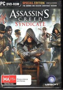 ASSASSIN-039-S-CREED-SYNDICATE-PC-DVD-ROM-GAME-5-discs-Special-Edition-VG