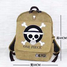 ONE PIECE POP Luffy Monkey.D.Luffy Schoolbag Book Bag Canvas Backpack Rucksack