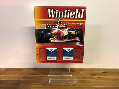 Vintage Retro Winfield Racing Team '99 Tobacco Store Advertising Display  Sign | eBay