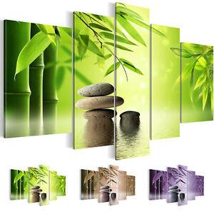 Feng Shui Dekoration bild leinwand bilder 5019516 27 kunstdruck feng shui deko grün braun