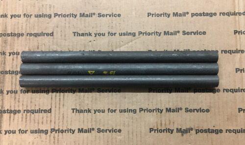 "3//4 Steel Round Stock Shaft Blacksmith Pins Machining A-36 12/"" Long 3 Pcs"