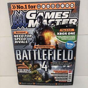 Games Master Magazine Issue 266 AUGUST 2013 BATTLEFIELD 4 WORLD EXCLUSIVE