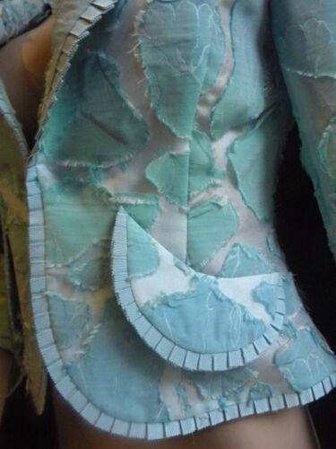 Claude Femminile Haute Raro Couture Veste Bleu Printaniere Paris 38 Patrick Vert zGqSMUVp