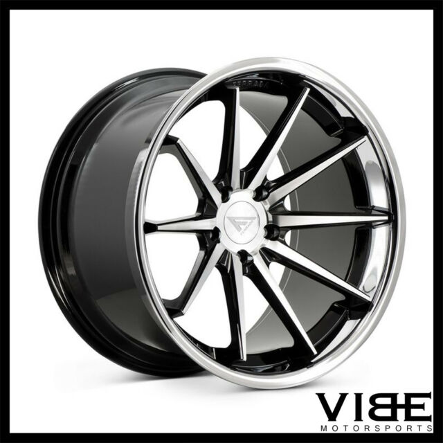22 Ferrada Fr4 Machined Concave Wheels Rims Fits Dodge Charger Rt