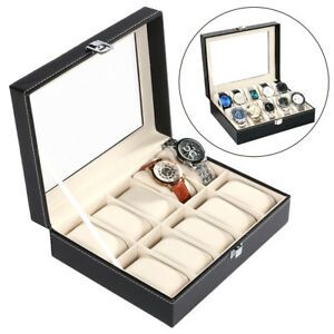 Jewelry Packaging & Display 24x Plastic Jewelry Bracelets Wrist Watch Displays Rack Holder Show Case Stand Watches, Parts & Accessories
