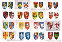Miniature Heraldic Shields 1:12th Scale Medieval Tudor Dolls House - Handmade