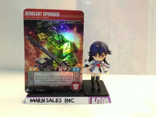 Transformers TCG Wave 4 Sergeant Springer Special Ops Aerial Defense CT T46