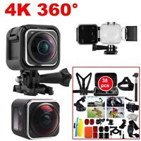 3d Action Sports Panoramic Camera Wifi 16mp 4k Hd 220° Lens+38 In1 Accessories