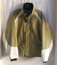 VANS Technical Snowboard Ski Cool Weather lightweight Jacket Tan/White - Medium