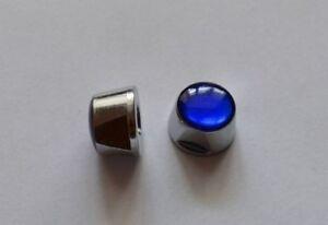 Cobalto-Campagnolo-C-Record-Mittelschrauben-Nuts-Schrauben-selten-PAAR-neu