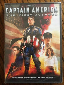 NEW-Captain-America-The-First-Avenger-DVD-2011-RARE-Fast-FREE-Shipping