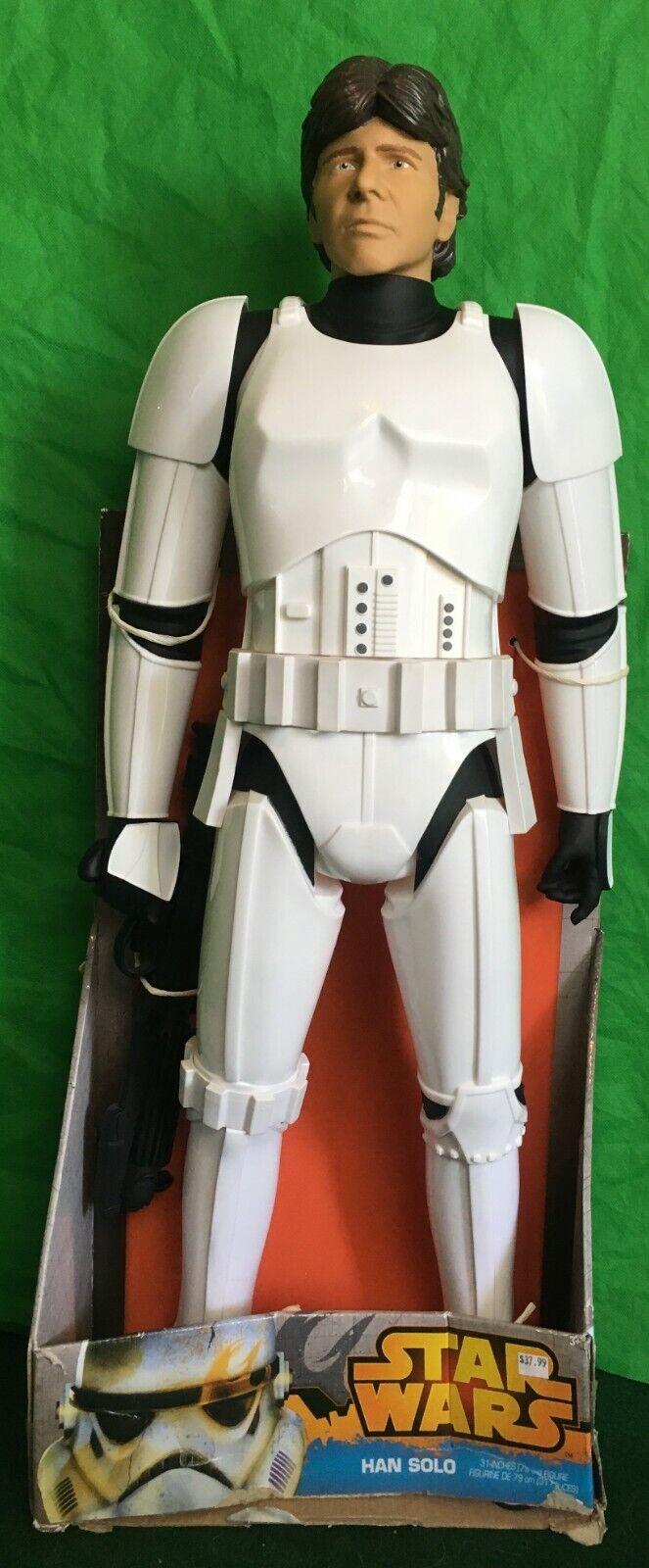 Han Solo (Estrella Wars) 31  figura JAKKS PACFIC UPC   039897782423, Raro Error, Nuevo En Caja