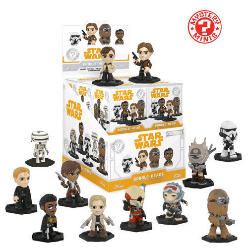 Star Wars Solo Set of 12 NEW Funko Mystery Minis Blind Box