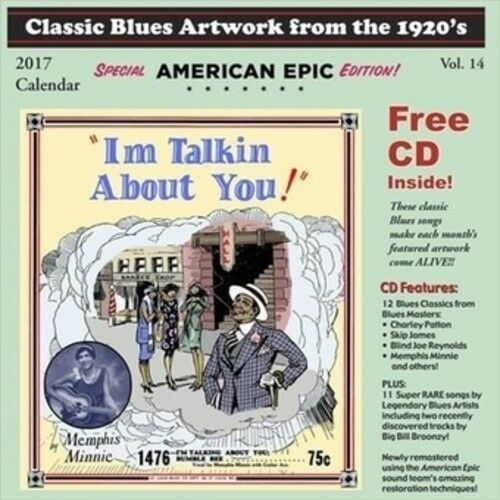 Various - CLASSIC BLUES ARTWORK FROM THE 1920S CALENDAR (2017) [New CD]