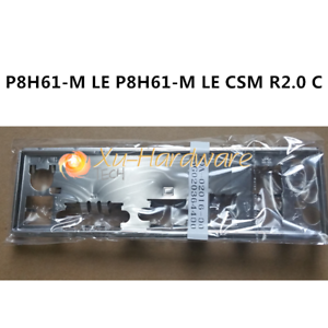 I//O SHIELD back plate BLENDE BRACKET for ASUS P8H61-M LE P8H61-M LE CSM R2.0