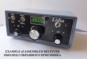 """Details about NEW! Simple Double-band Receiver CW/SSB """"Lidia"""" (40/80  meters)  KIT DiY!"""