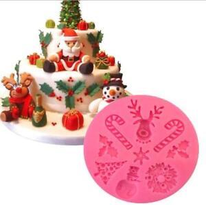 diy weihnachtskombination fl ssige silikonform kuchen dekoration backzubeh r ebay. Black Bedroom Furniture Sets. Home Design Ideas