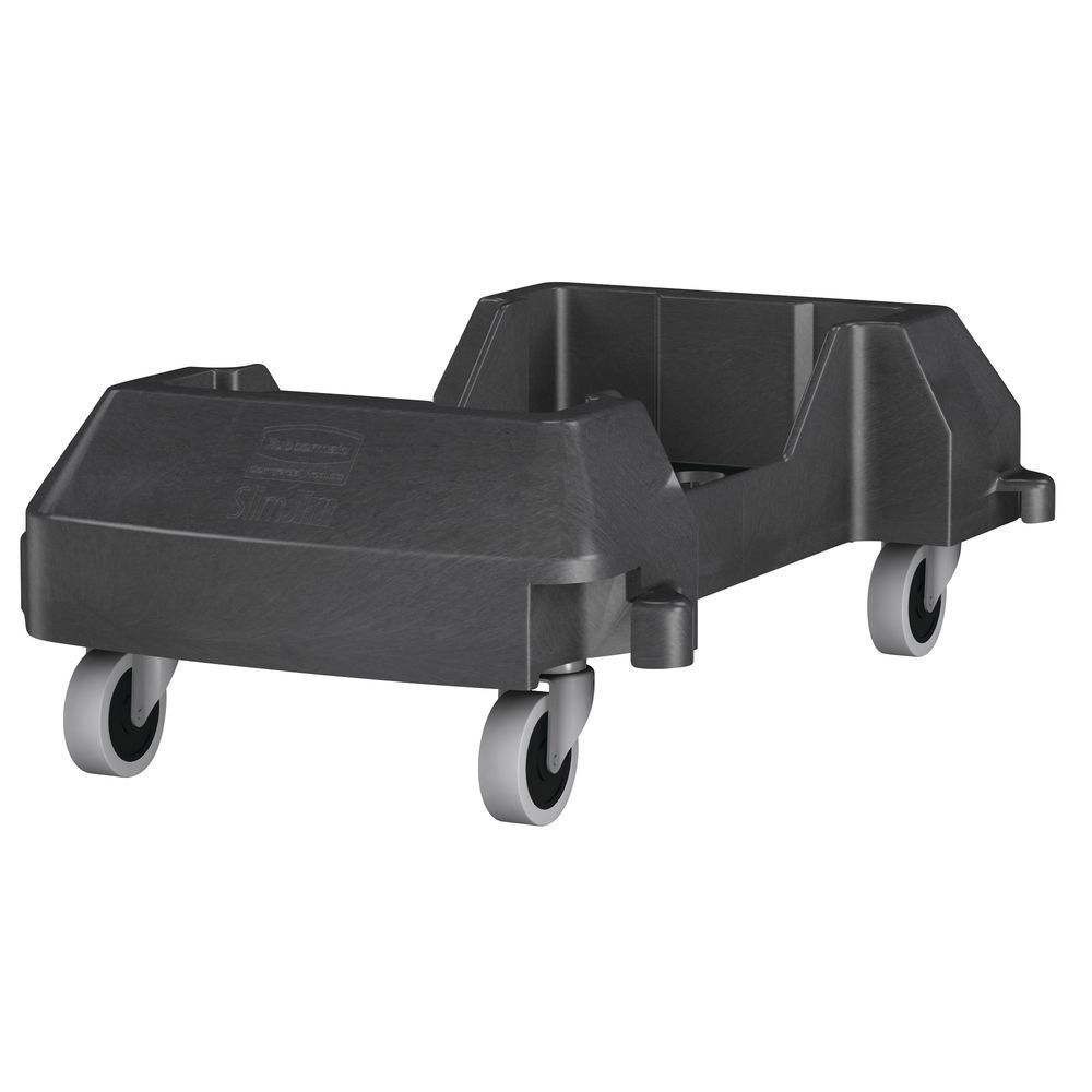 Rubbermaid Commercial Products 1980602 Slim Jim Container Trolley