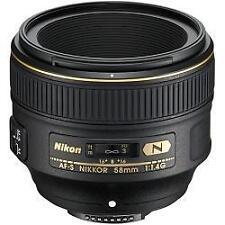 Nikon AF-S Nikkor 58mm f/1.4G Obiettivo F1.4 G Nuovo di zecca