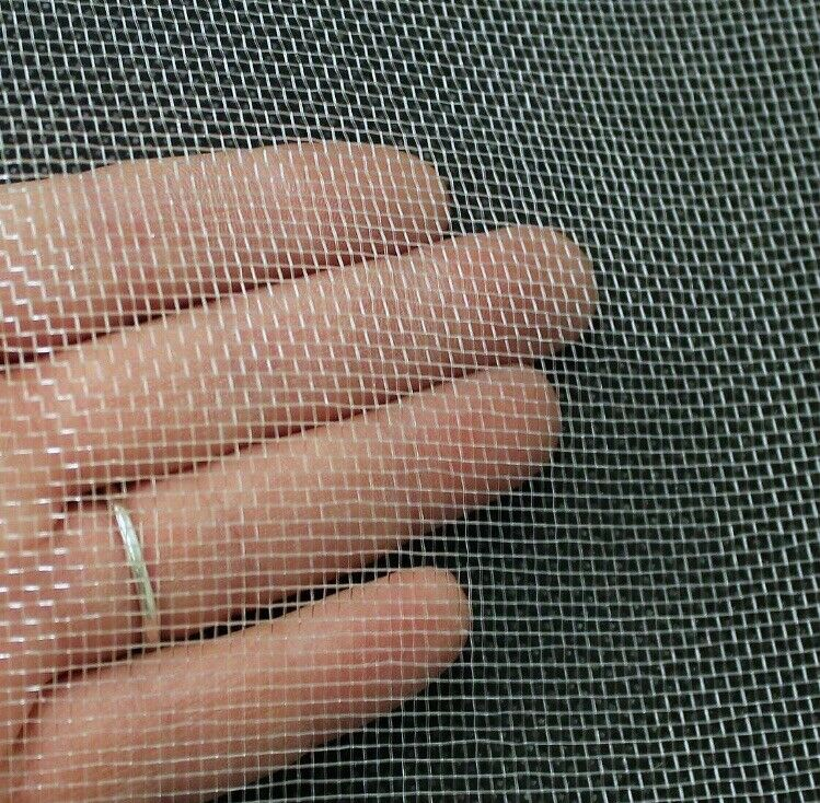 1M White Fine Woven Fly Screen Netting Insect Mesh Window Door Plastic Bug Pest